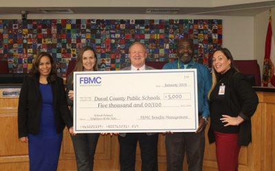 FBMC sponsors school district banquet