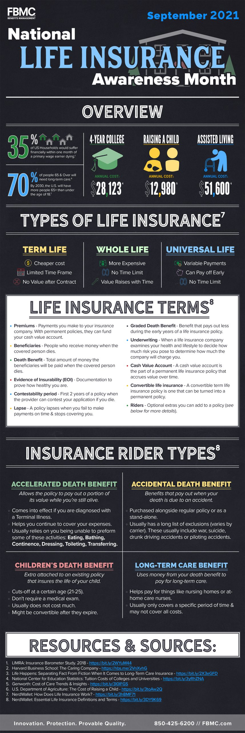 Life Insurance Infographic
